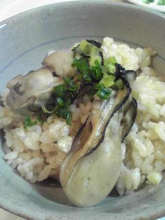 牡蠣ご飯レシピ